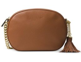 Wholesale Beads Leather Bag - Women Leather Soho Bag Disco Shoulder Bag Purse 308364
