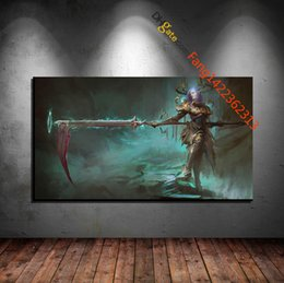 """Wholesale Great Wall Decor - """"aoe Fallen Angel of The Great Swing"""" Premium Art Print. HD Canvas Prints Wall Art for Home Decor(Unframed)"""