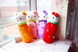 Wholesale Dolls Kitty - 2017NEW55cm super cute hello kitty pillow, hello kitty doll cushion plush toy doll birthday gift girls