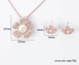 Wholesale Cheap Costume Jewelry Wholesale Necklace - cheap fashion small ladies 18k gold plated big costume jewelry set made in china jewelry Mixed order