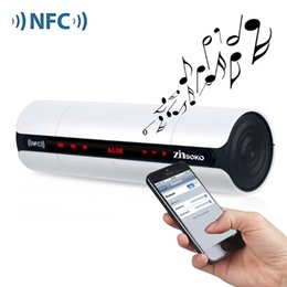 Wholesale Hifi Bluetooth Loudspeaker - Wholesale- Zinsoko KR8800 Portable NFC FM HIFI Bluetooth Speaker Wireless Stereo Loudspeakers Super Bass Caixa Se Som Sound Box Hand Free