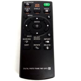 Argentina Control remoto por mayor para Sony RMT-DPF5 RMTDPF5 apto para DPF-D810 DPF-D710 DPF-D85 DPF-D820 MARCO DE FOTO DIGITAL Fernbedienung cheap photo digital video wholesale Suministro
