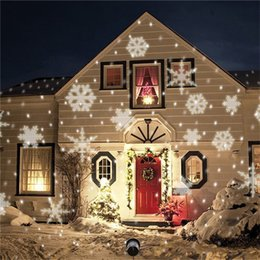 Wholesale Outdoor Christmas Decorations Uk - Snowflake lights,Christmas lights Outdoor Waterproof for Garden Yard Wall Family Gathering Party KTV Wedding Night Club Decoration