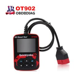 Wholesale Airbag Service Tool - Quicklynks OT902 Color Display OBDII EOBD Oil Service Reset Tool OT902 Code Diagnostic Airbag Reset Tool OT902