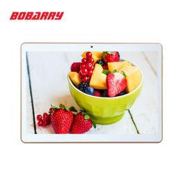 Atacado-BOBARRY Tablet 10 polegada 3G 4G Lte O Tablet PC Octa Núcleo 4G RAM 64 GB ROM Dual SIM Card Android 5.1 Tab GPS tablets bluetooth 10 de Fornecedores de pacote quad