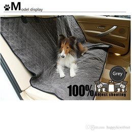 Wholesale Car Seat Covers Summer - Super Soft Large Dog car Beds -Double Side Winter and Summer Waterproof Protective Rear Car Seat - Dog Pet seat waterproof Cover-