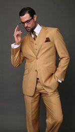 Wholesale Mens Suits Piece Designs - 2017 Latest Coat Pant Designs Tuxedos Classic Men Suit Slim Fit Modern Wedding Blazer Custom 3 Piece Jacket mens suits