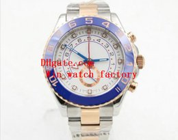 Wholesale Master Digital Color - Noob Factory Original Box Papers Sapphire Wristwatches Yacht AAA Master 44mm WHITE Dial 116681 116681WT Automatic Movement Watch Watches