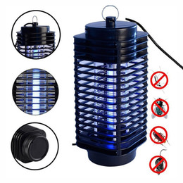 Wholesale Fly Killers Electric - Pest Control Electric Electric Mosquito Killer Moth Killing Insect LED Bug Zapper Fly Lamp Trap Wasp Pest Garden Supplies