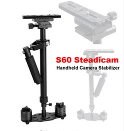 Wholesale Handheld Steadycam Stabilizer - Steadicam s60 handheld camera stabilizer video steady cam DSLR steadycam estabilizador de cameras minicam Compact Camcorder DV