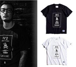 Wholesale Skeleton T - Neighborhood T shirt Men Women 1:1 High Quality MDNS Madness Skeleton 100% Cotton T-shirt Top Tees Neighborh T Shirt