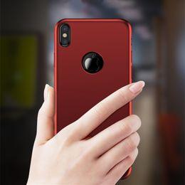 Wholesale Premium Microfiber - Premium Case Cover For Apple iPhone X 8 7 6 6s Plus Luxury Supebric Microfiber Luster PC Material Back Cover Cell Phone Case