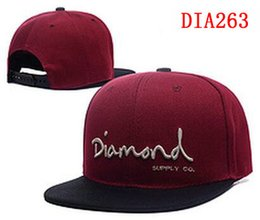 Wholesale Girl Diamond Snapback Hats - 2017 Diamond Snapbacks hats Baseball cap Adjustable Snapback Hat Baseball Caps Adult Women Men baseball Cap Acceap Mix Order