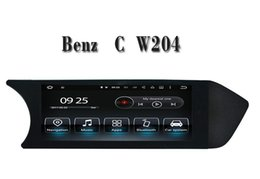 Wholesale Gps Mercedes Class C - Android 7.1 Car DVD Player GPS Navigation for Mercedes Benz C Class W204 2012 2013 with Bluetooh SD USB AUX Video Stereo