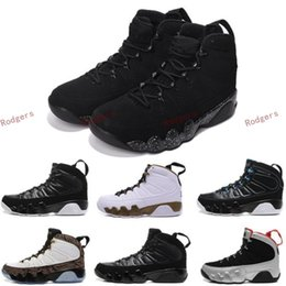 Wholesale Green Charcoal - New Retro 9 Space Jam Basketball Shoes Men 9s VIIII Copper Statue Anthracite Baron Charcoal Johnny Kilroy Trainer Athletics Boots J9 Sneaker