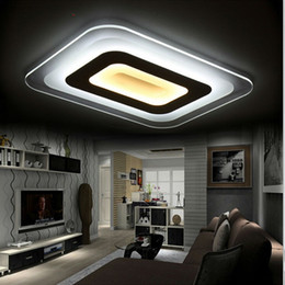 Canada Creative Design Modern Led Ceiling Light Living Room Lights Acrylic Decorative Lampshade Kitchen Lamp Lamparas