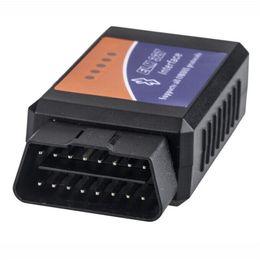 obd2 ford vcm ids Sconti Super Mini ELM327 Bluetooth V1.5 PIC18F25K80 OBD2 Lettore di codice OBDII ELM 327 Bluetooth per Android Diagnostic Scan Tool