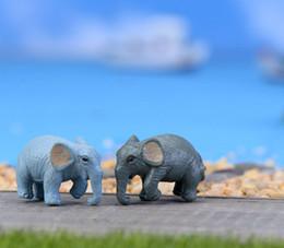 bambole decorative all'ingrosso Sconti 2017 nuovi muschio micro - paesaggio ornamenti decorativi mini cartoon cartoon simulazione bambola elefante bambola bambola all'ingrosso