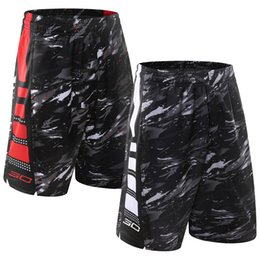 Wholesale Running Loose - Men's Large Running Sport Pants Basketball Training Service Quick Dry Breathable Double Pouch Sports Shorts 5 pants L-3XL
