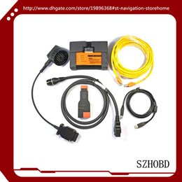 Wholesale Car Diagnostic Scanner Airbag - bmw diagnostic car tools BMW Scanner ICOM A2+B+C ICOM A2 B C For BMW Diagnostic & Programming Tool interface without software