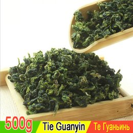 Wholesale Vacuum Package Tea - 500 g extra chinese tea Tieguanyin tea, oolong, the guan yin tea, health tea, vacuum package, free shipping, recommend
