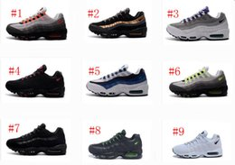 Wholesale Leather Wrestling Shoes - Wathet & Grey Max 95 Hyp Prm 20 Anniversary Retro Running Shoes For Men Cheap Athletic 90 Maxes Trainers Sport Sneakers Eur40-46
