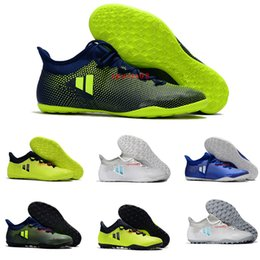 Wholesale Ic Sales - 2017 Hot Sale Low Ankle Football Shoes X Tango 17.3 IC Mens Indoor Soccer Cleats Youth Best Quality Soccer Sneakers 39-45 Free Shipping
