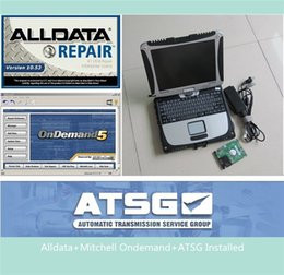 Wholesale Bmw Programming - 2017 HOTTEST NEW alldata mitchell and atsg with laptop cf-19 +1000gb hard disk+ CF19 laptop (4g) ready to work programming & diagnostic