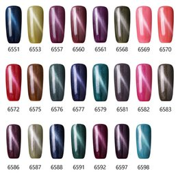Wholesale Sale Uv Gel Nail Polish - Wholesale- Sexymix 7ML Magnetic UV Lamp Soak off Color Gel Polish Cat Eye Professional Top Sales Cheap Price Long Lasting Nail Gel Varnish