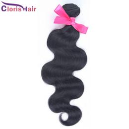 2019 tissus remi péruvien 3.5Oz / pcs Péruvienne Vierge Vague de Corps Cheveux Weave 1 Bundle Bouncy Ondulés Péruvienne Remi Extensions de Cheveux Humains En Gros 12