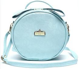 Wholesale Round Bags - New Cosmetic Bag Round Mini Women Makeup bag Travel Portable Handbag Crossbody Bags Multi-function cosmetic bag