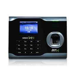 Wholesale Ip Functions - Wholesale- Zksoftware U160 Biometric fingerprint reader Time Attendance Time Clock Recorder WIFI Function +TCP IP+USB ( Free SDK)
