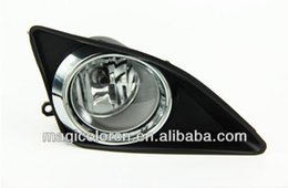 Wholesale Toyota Corolla Fog Cover - Golden Supplier Wires+ Switch+ Chrome Cover CAR LIGHT FOR Toyota Corolla Altis 2008 Fog Lamp