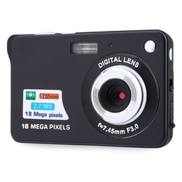 Wholesale Digital Photo Frame Sd - Digital camera 2.7 inch TFT LCD 18.0 mega pixels 8X digital zoom Anti-shake Video Camcorder photo camera
