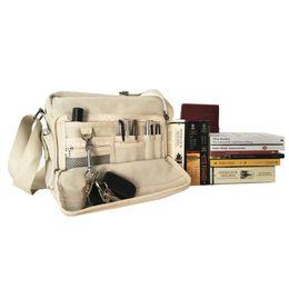 Wholesale Handbags Street Style - Preppy Style Canvas Handbags Street Style School Bags College Middle School Chic Crossbody Bags Book Paper Pad Phone Card Bags