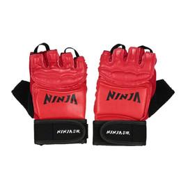 Lucha Guantes De Boxeo Mitones Sanda Karate Sandbag Protector De Taekwondo Para Mma Muay Thai Kick Guantes De Boxeo Half Finger EA14 desde fabricantes