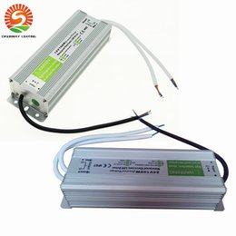 Wholesale Led Lamp Power Driver - DC 100W LED Driver Power Supply Waterproof Outdoor 12V   24V 100W Transformers Adapter LED Strip light Lamp 20pcs Free shipping