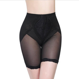 Wholesale Tummy Hot Shapers - Women High Waist Butt Lifter Pants With Tummy Control Slimming Hot Body Shapers Stomach Shaper Thigh Slimming Buttocks