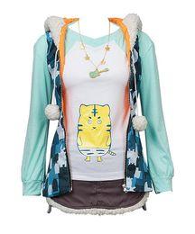 Argentina Disfraz de Cosplay la oreja de animación con capucha Disfraz de Cosplay Suministro