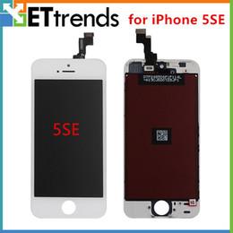 Iphone 5c lcd digitizer aaa en Ligne-Promotion!! Grade AAA AUCUN PIXEL Parfait pour iPhone 5 5s 5c 5SE Digitizer à écran tactile LCD Display sans cadre