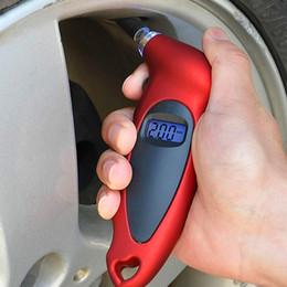 Wholesale Motorcycles Diagnostic Tools - Car Motorcycle Bike Mini Digital Tire Gauge Tire Diagnostic LCD Display Universal Car Digital Tire Pressure Tool Gauge