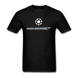 Wholesale Industry Shorts - Stark Industries Logo T Shirt For Men