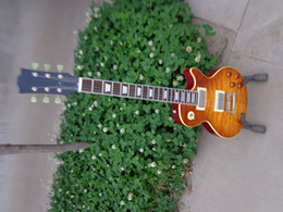 Wholesale Quilt Maple Guitar - best china guitar Custom Shop '59 Quilt Maple Top, Gloss Orange Drop Electric Guitar OEM