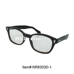 Wholesale Decorative Framed Butterflies - butterfly buffalo horn optical reading glasses with decorative metal pins