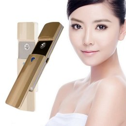 Wholesale Nano Care Spray - Cosmetic Equipment Face Care Spraying Water Steaming Device Travel Beauty Electronic Instrument Profession Portable Nano Sprayer Plasma.