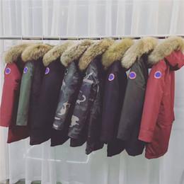 Wholesale Canada Down Men - Canada Women Men Down Long Coats Women Expedition Parka Black Sweden Norway Women Down Jacket Fashion Outwear