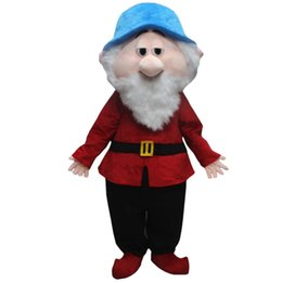 Wholesale Mascot Costumes Dwarf - Dwarf Mascot Costumes Cartoon Character Adult Sz 100% Real Picture