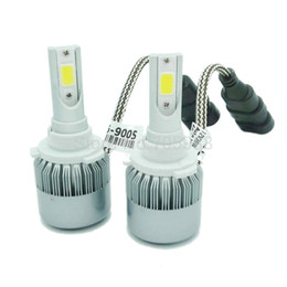 Wholesale Replace Car Headlights - 2pcs 9006 hb4 36W 7600Lm Car Headlights motorcycle headlamp Car Light Source parking Fog Lights replace for halogen h7 h8 h11 h1