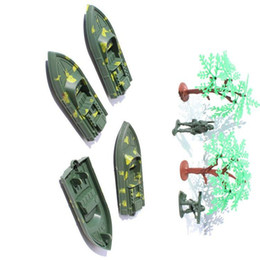 Wholesale Toy Military Soldiers - plastic inflatable military series simulation model of children toy soldier boys scene components car model toy vehicle
