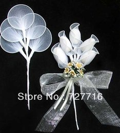 Wholesale white wedding almonds - Wholesale- Free Shipping--40pcs=200 holders Smooth edge Almond Holder-Racchetti Flat spray, Bomboniere-wedding favor